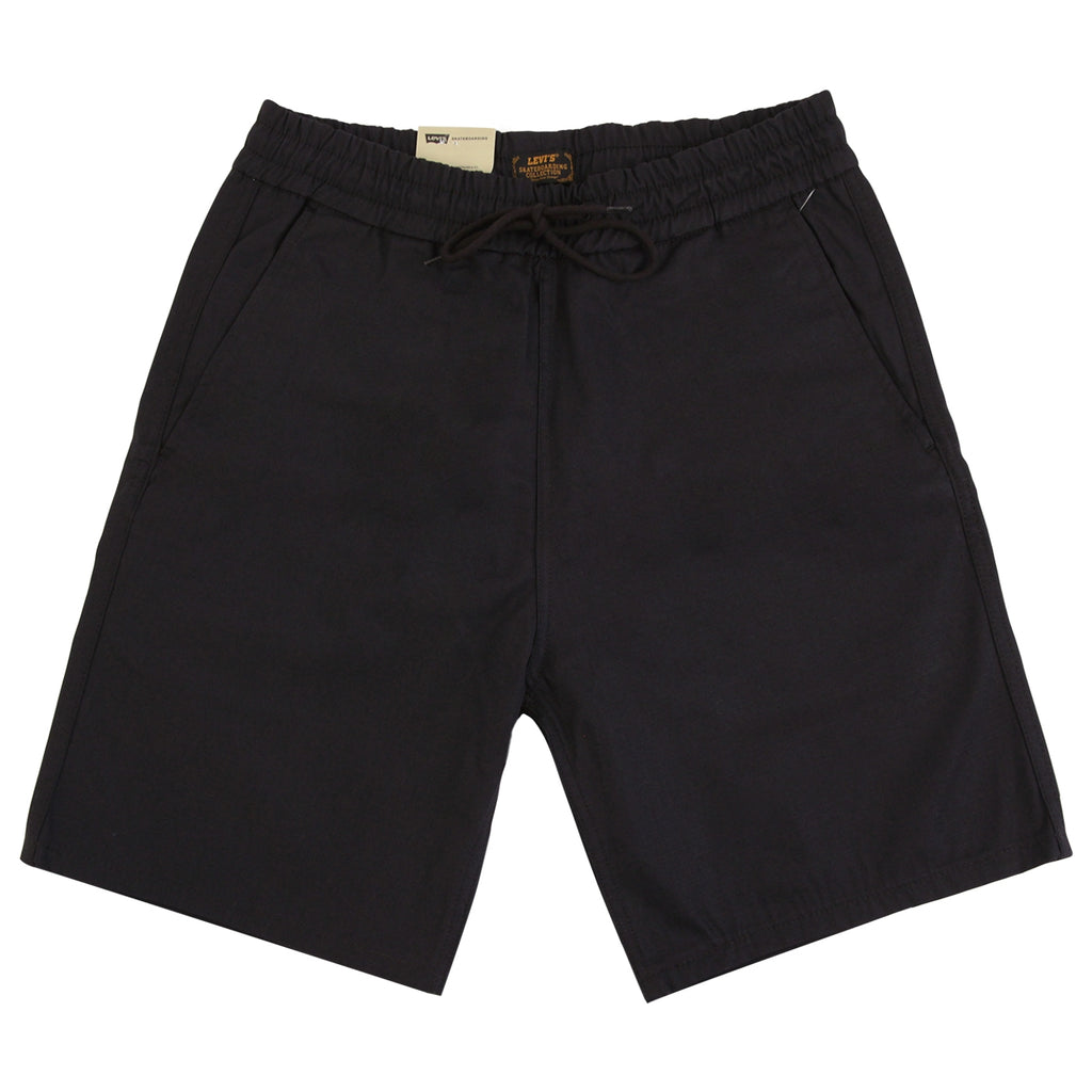 Levis Skateboarding Easy Short in Black Ripstop - Open