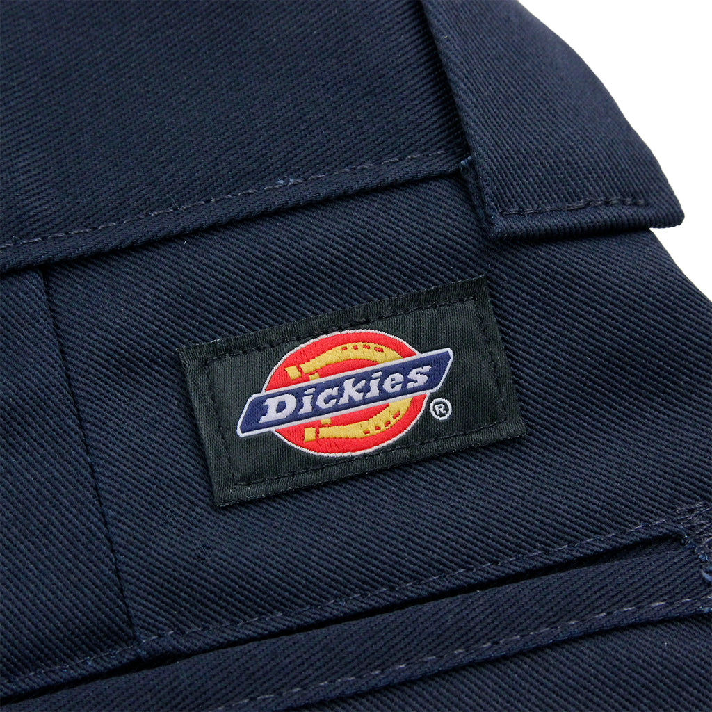 Dickies 873 Slim Straight Work Pant in Navy - Label