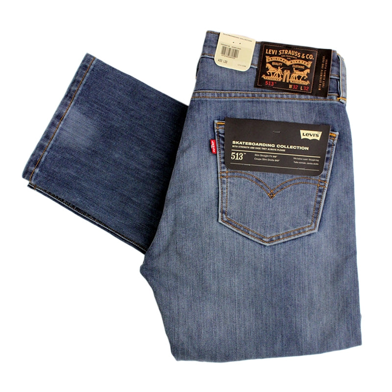 Levi's Skateboarding Collection 513 Slim Straight Jeans in Avenues