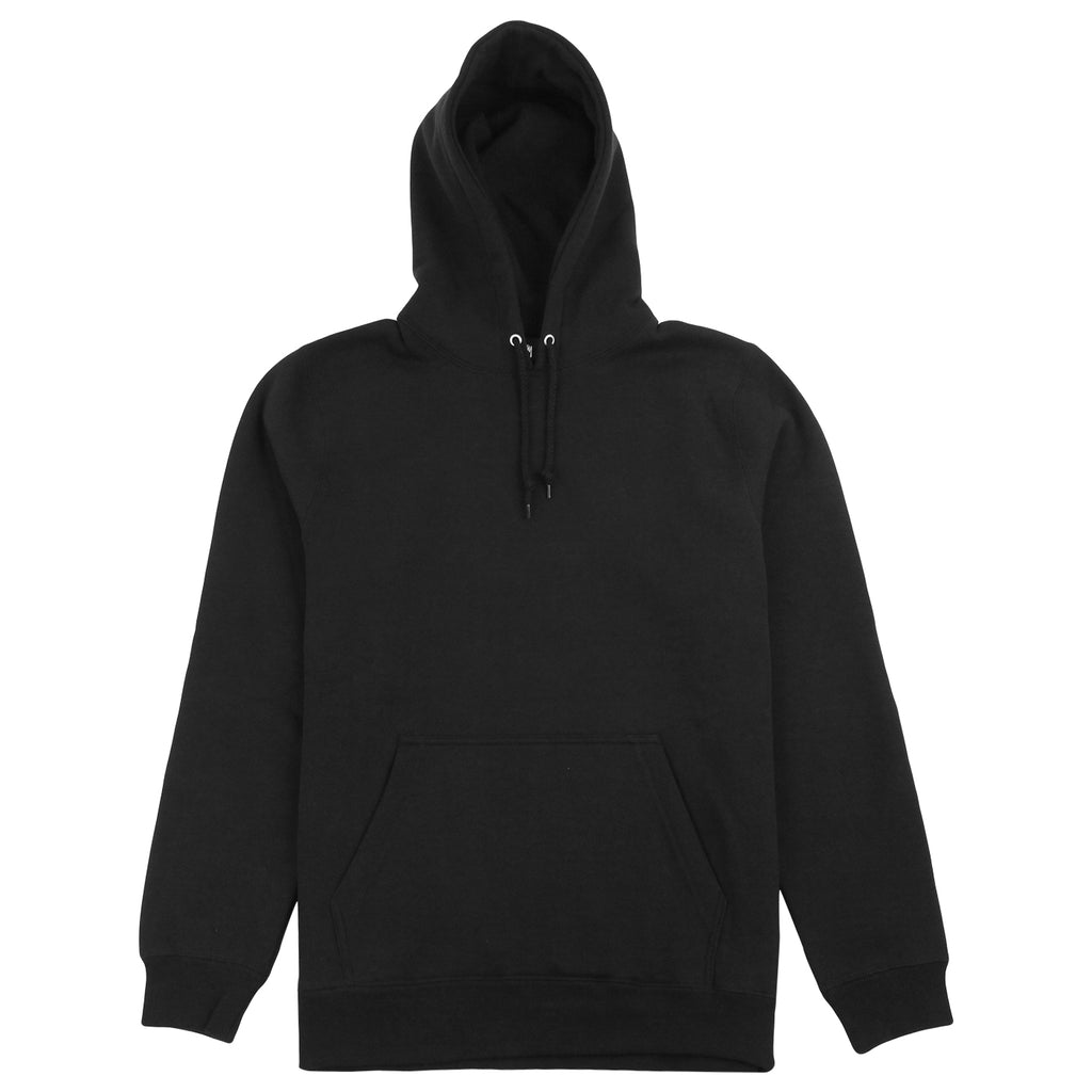 Stussy Arch Applique Hoodie in Black - Front