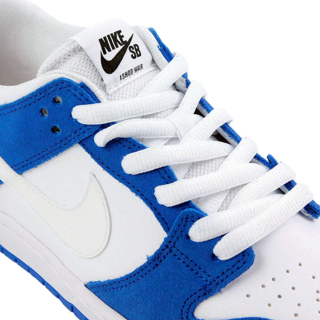 Nike SB Dunk Low Pro Ishod Wair Shoes in Blue Spark / White - Black - Detail