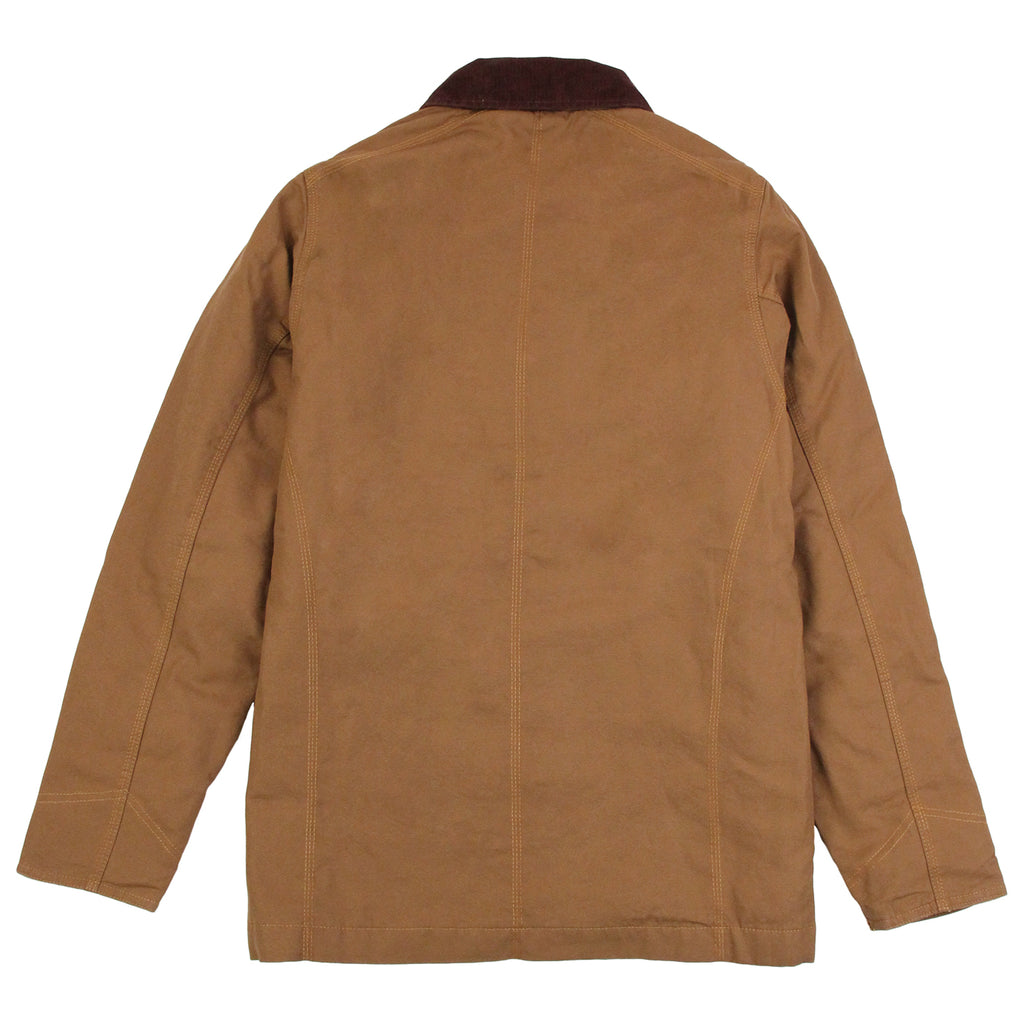 Dickies Thornton Jacket in Brown Duck - Back