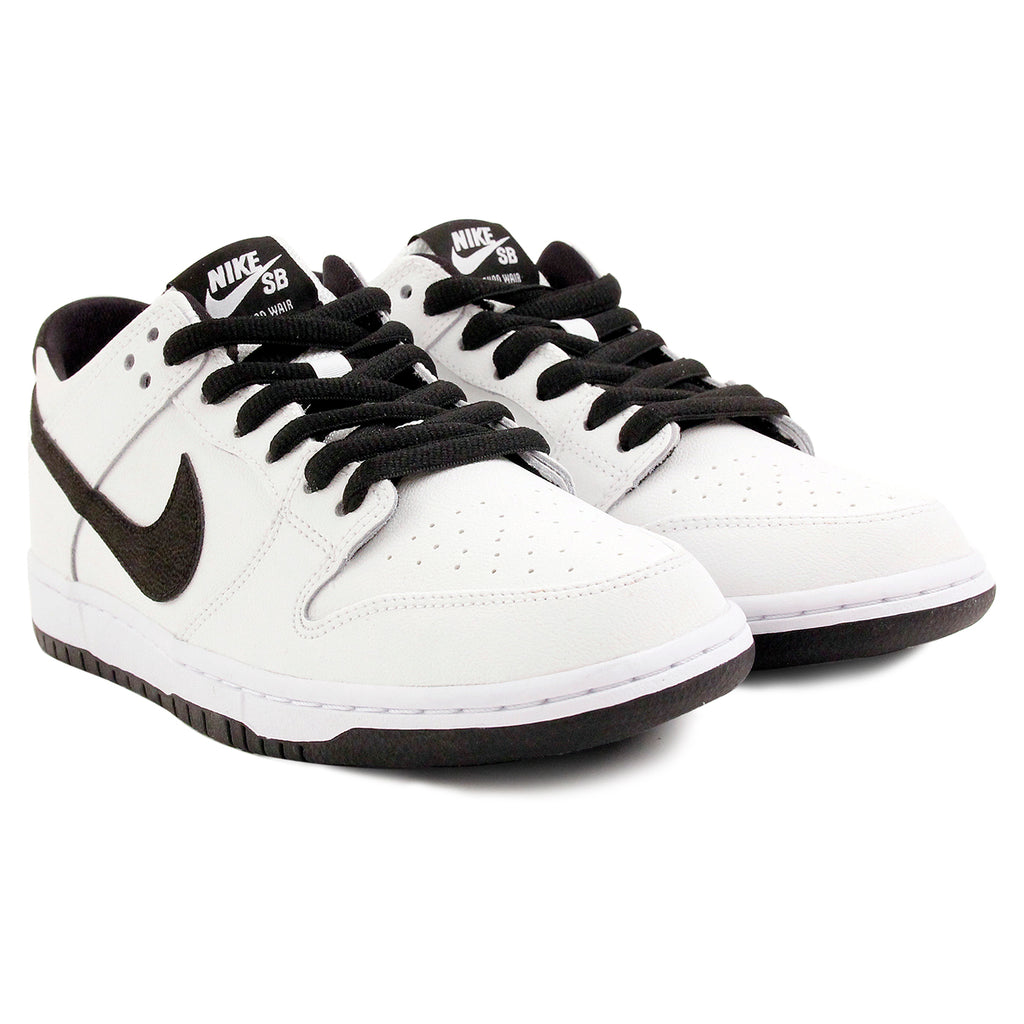Nike SB Dunk Low Pro Ishod Wair Shoes in White / Black - White - Pair