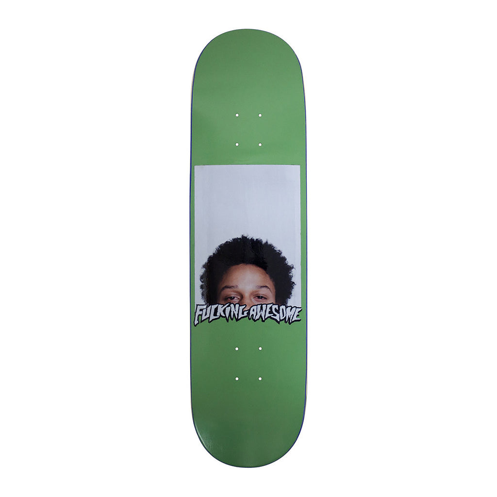 Fucking Awesome Kevin Bradley Green Deck in 8.38""