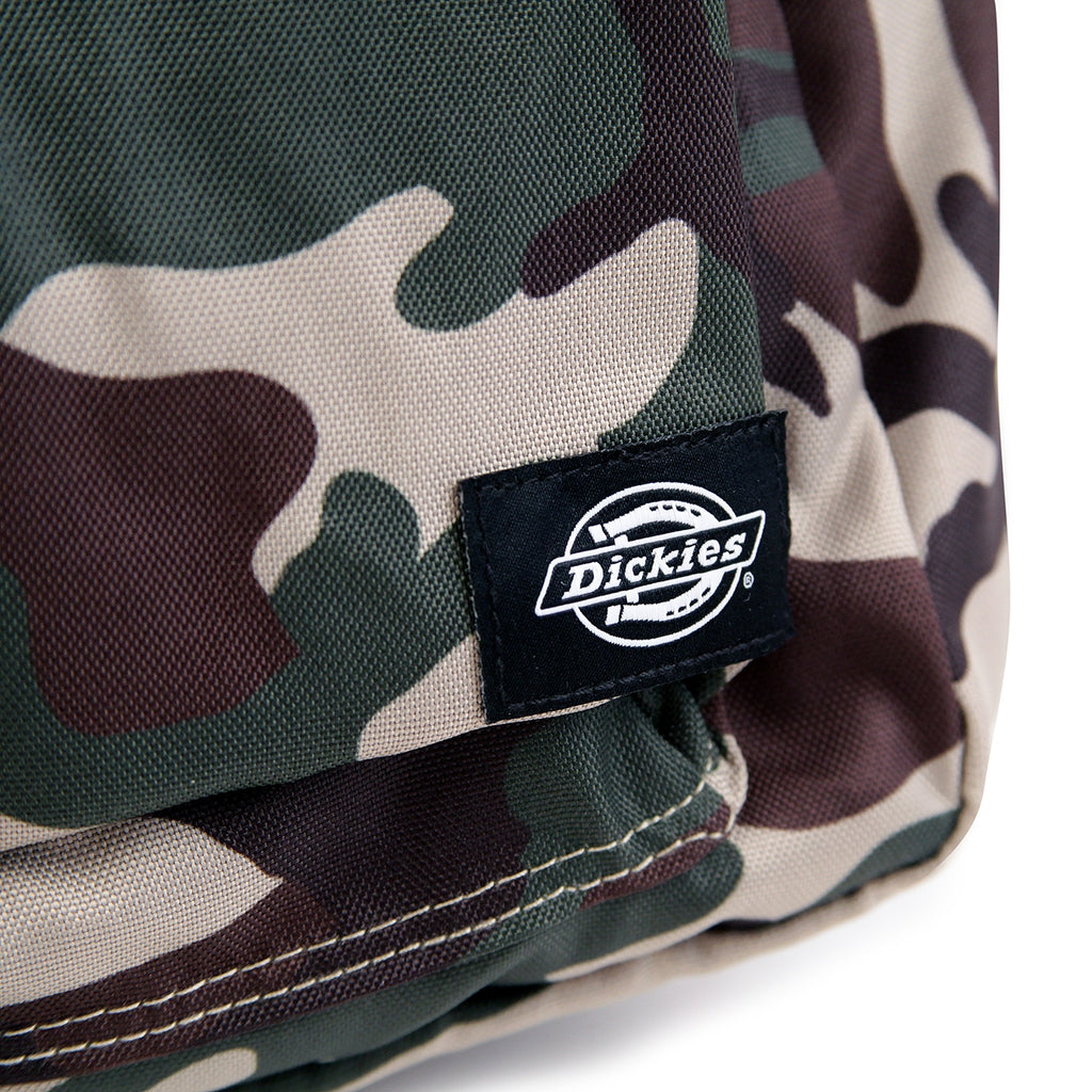 Dickies Indianapolis Backpack in Camouflage - Label
