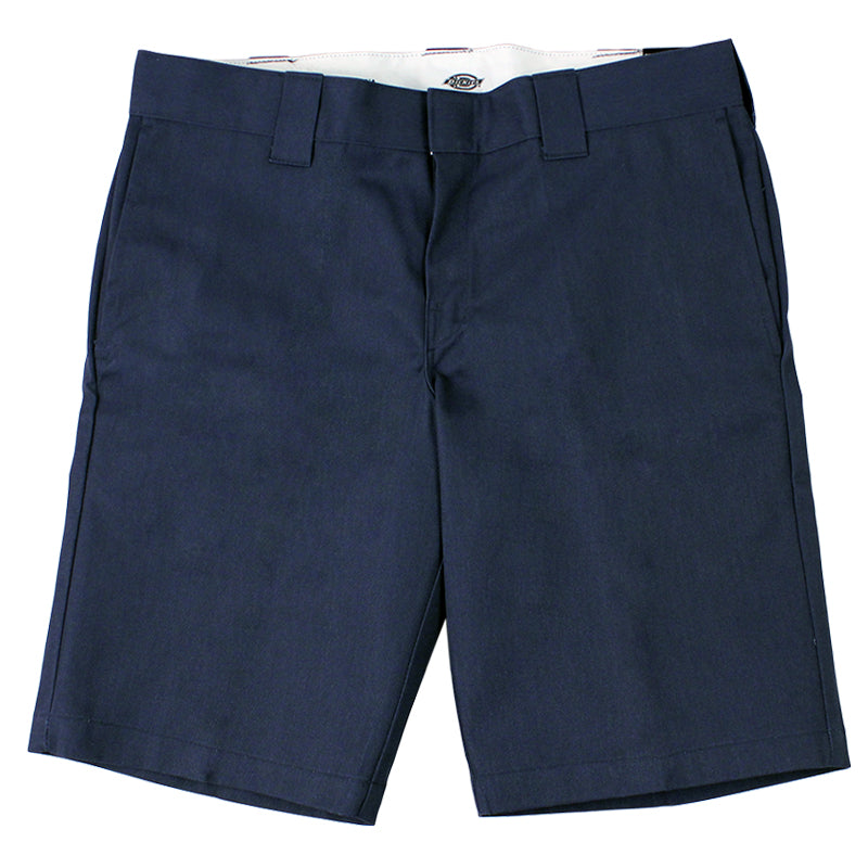 Dickies 273 Slim Fit Work Shorts in Navy - Profile