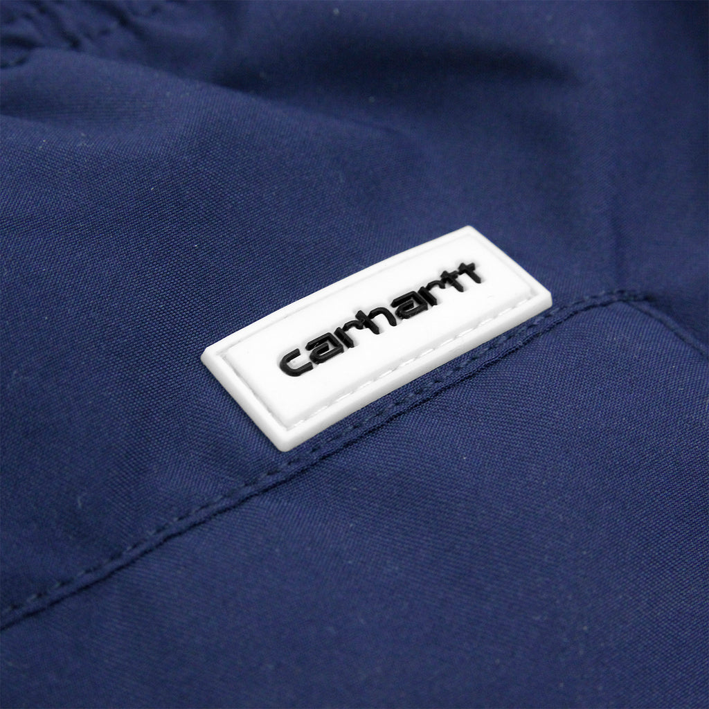 Carhartt Dean Swim Trunk in Blue - Label
