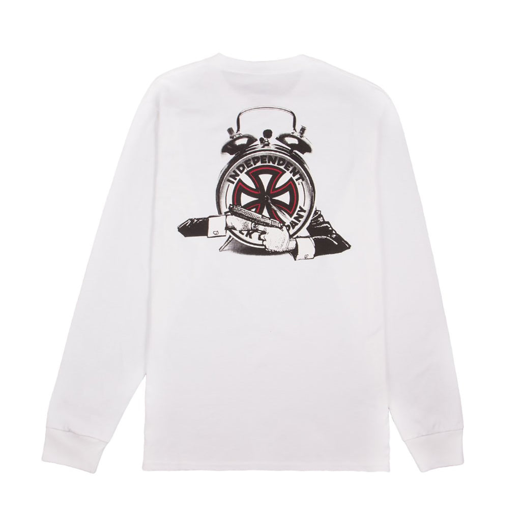 Fucking Awesome x Independent Trucks L/S Hostage T Shirt in White