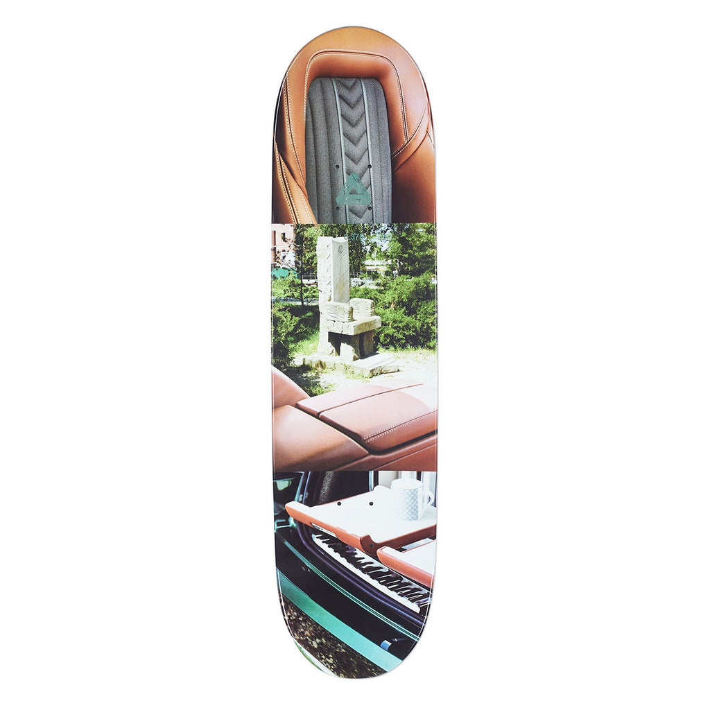 "Palace Chewy Pro Interiors Skateboard Deck in 8.38"" - Top"