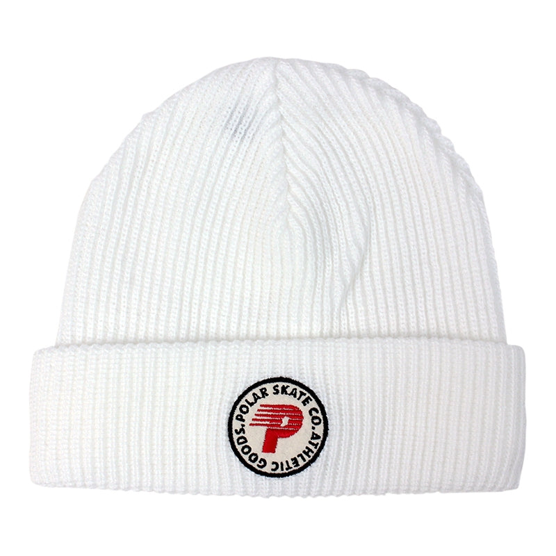 Polar Skate Co Harbour Beanie in White