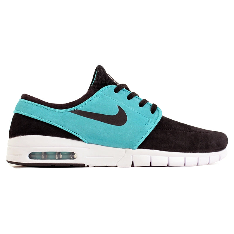Nike SB Stefan Janoski Max L Shoes in Black / Lt Retro / White