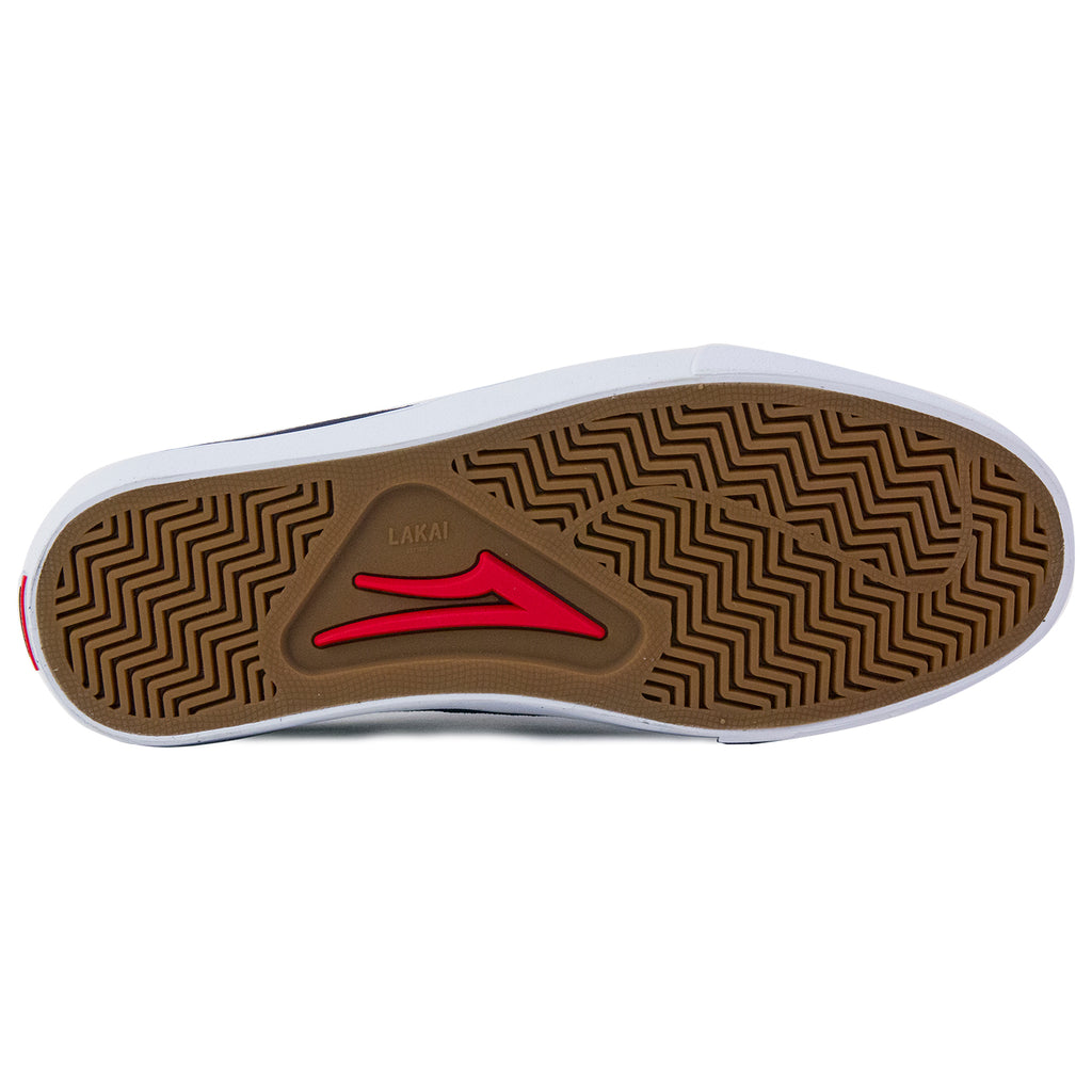 Lakai x Chocolate Skateboards Flaco Shoes in Midnight - Sole