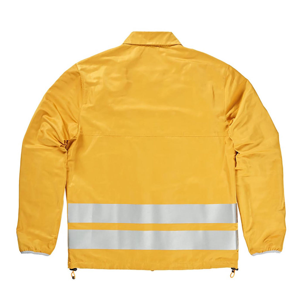 Polar Skate Co Skypager Jacket in Yellow - Back