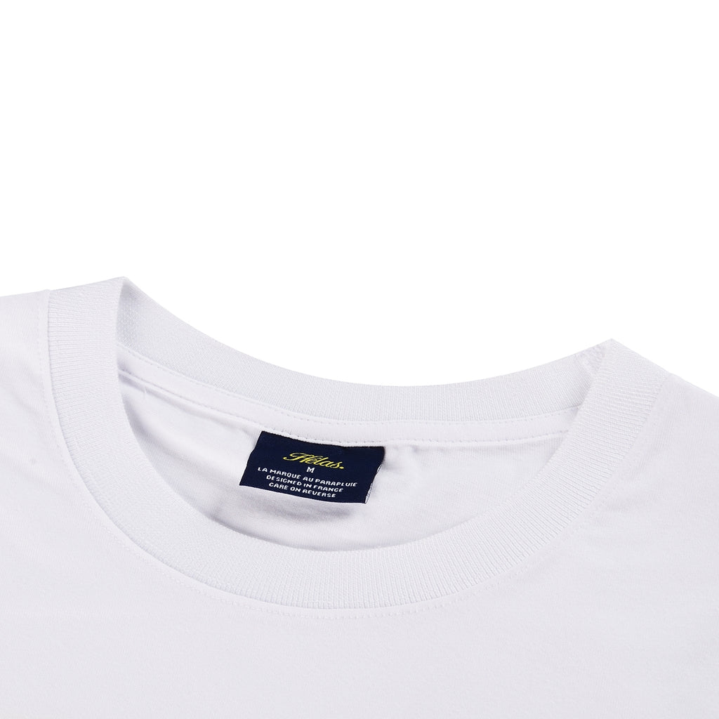 Helas HCC Zulu Cruise L/S T Shirt in White - Neck