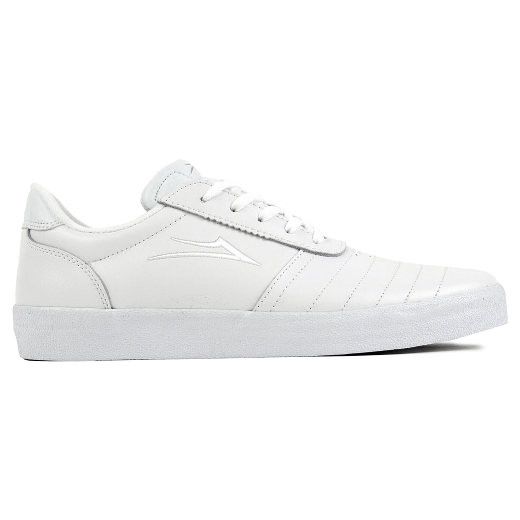 Lakai Anchor Salford Shoes in White Leather