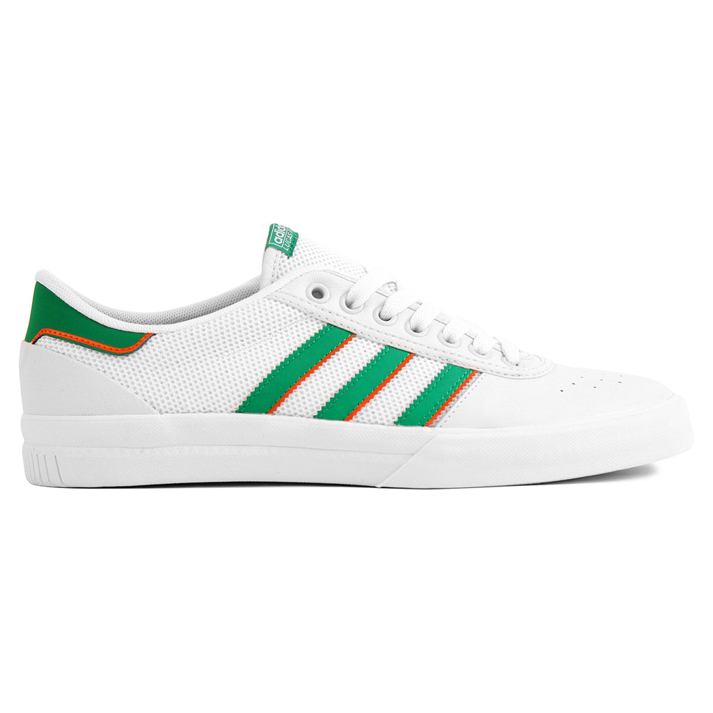 Adidas Lucas Premiere ADV Shoes in White / Green / White