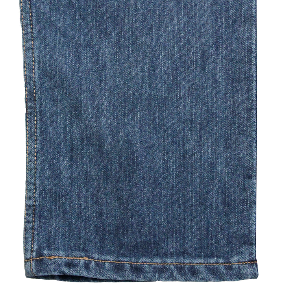 Levis Skateboarding 504 Straight Jeans in Turk - Pant cuff