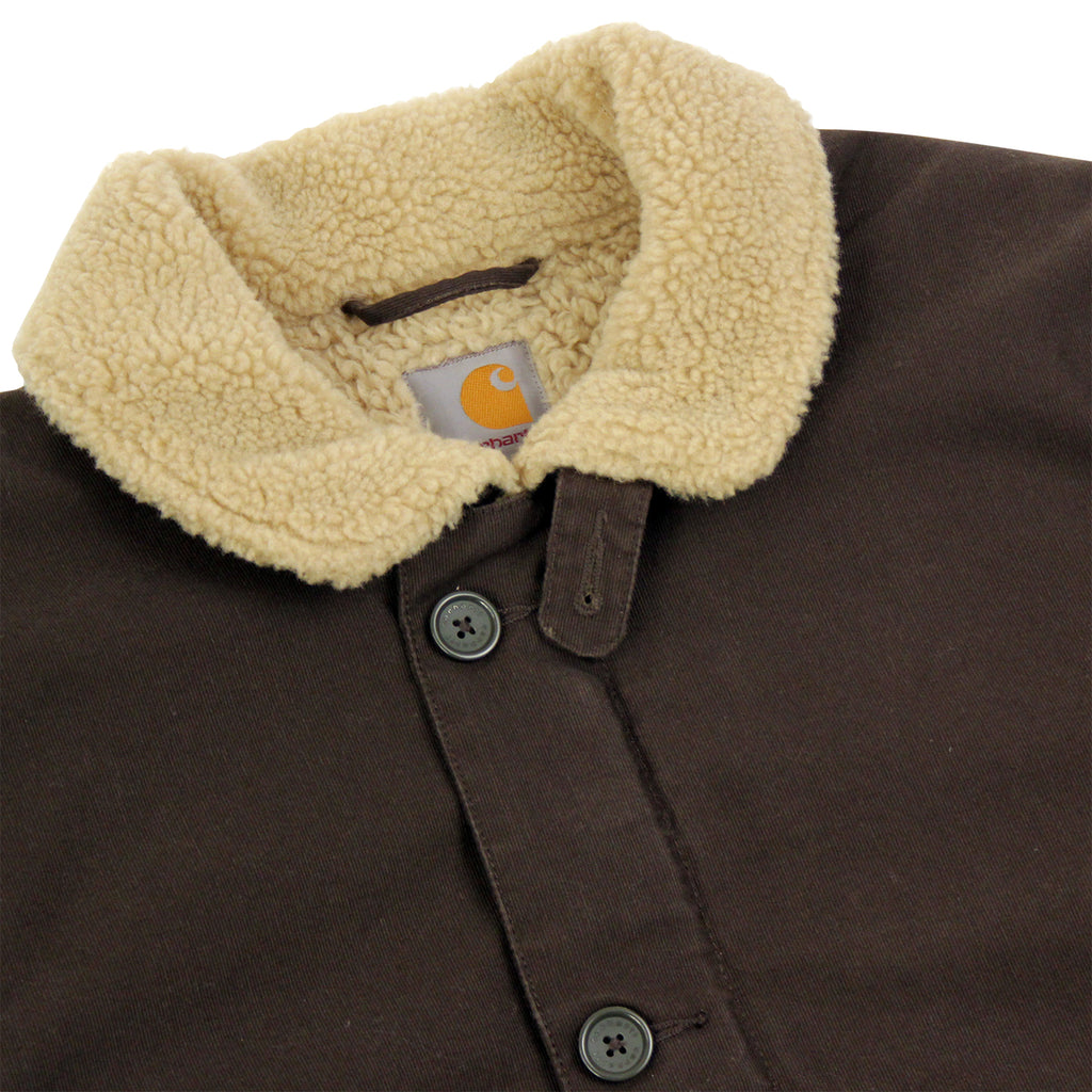 Carhartt Sheffield Jacket in Blackforest - Detail