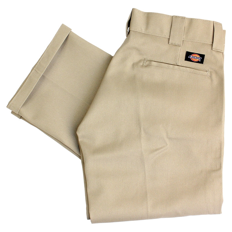 Dickies 873 Slim Straight Work Pant in Khaki