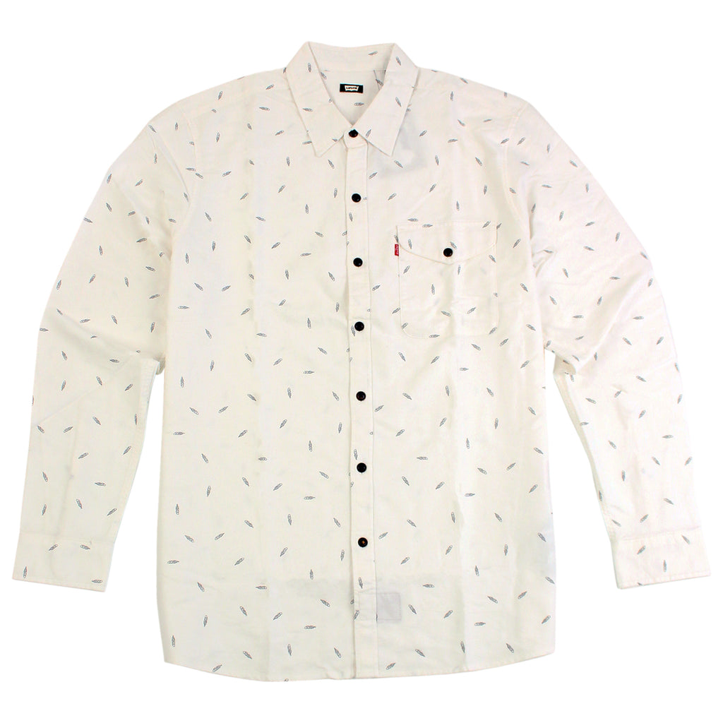 Levi's Skateboarding Collection Reform Shirt in Print White