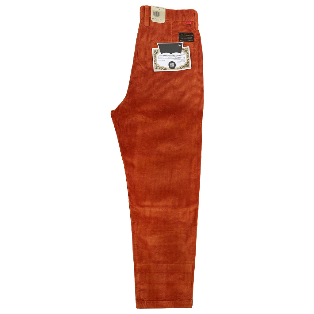 Levis Skateboarding Pleated Trousers in Bombay Brown