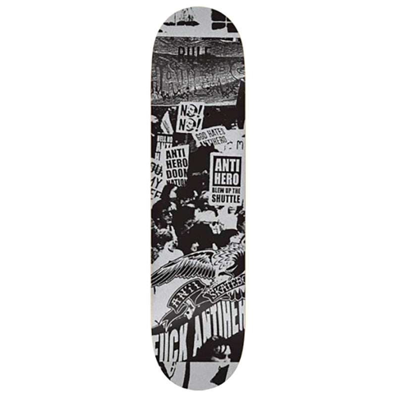 Anti Hero Skateboards PP Protest Deck in 8.5""