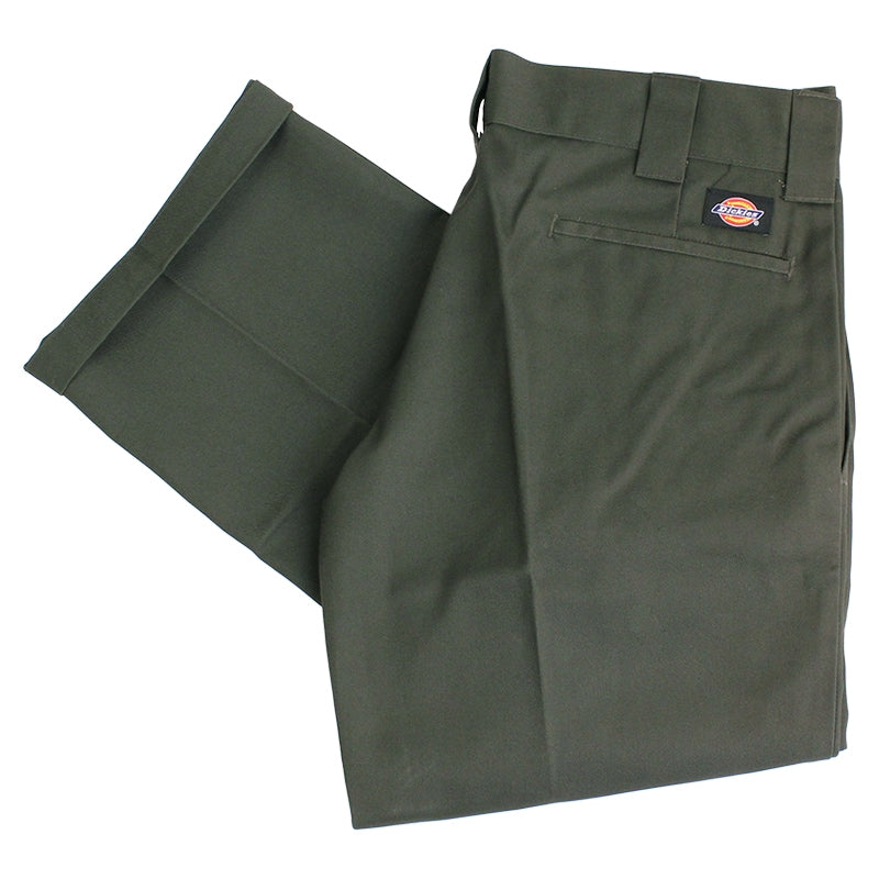 Dickies 873 Slim Straight Work Pant in Olive