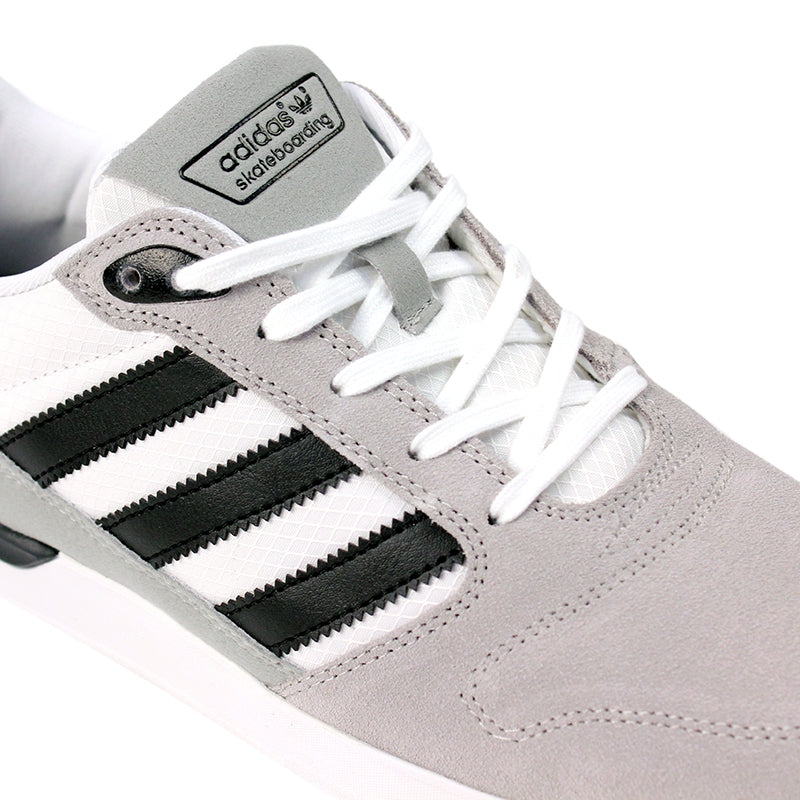 Adidas Skateboarding ZX Vulc Shoes in FTW White/Core Black/Grey - Detail