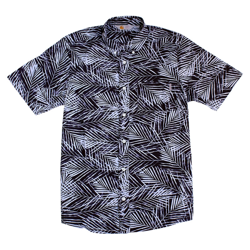 Carhartt WIP Cayman S/S Shirt in Paper Palm Print