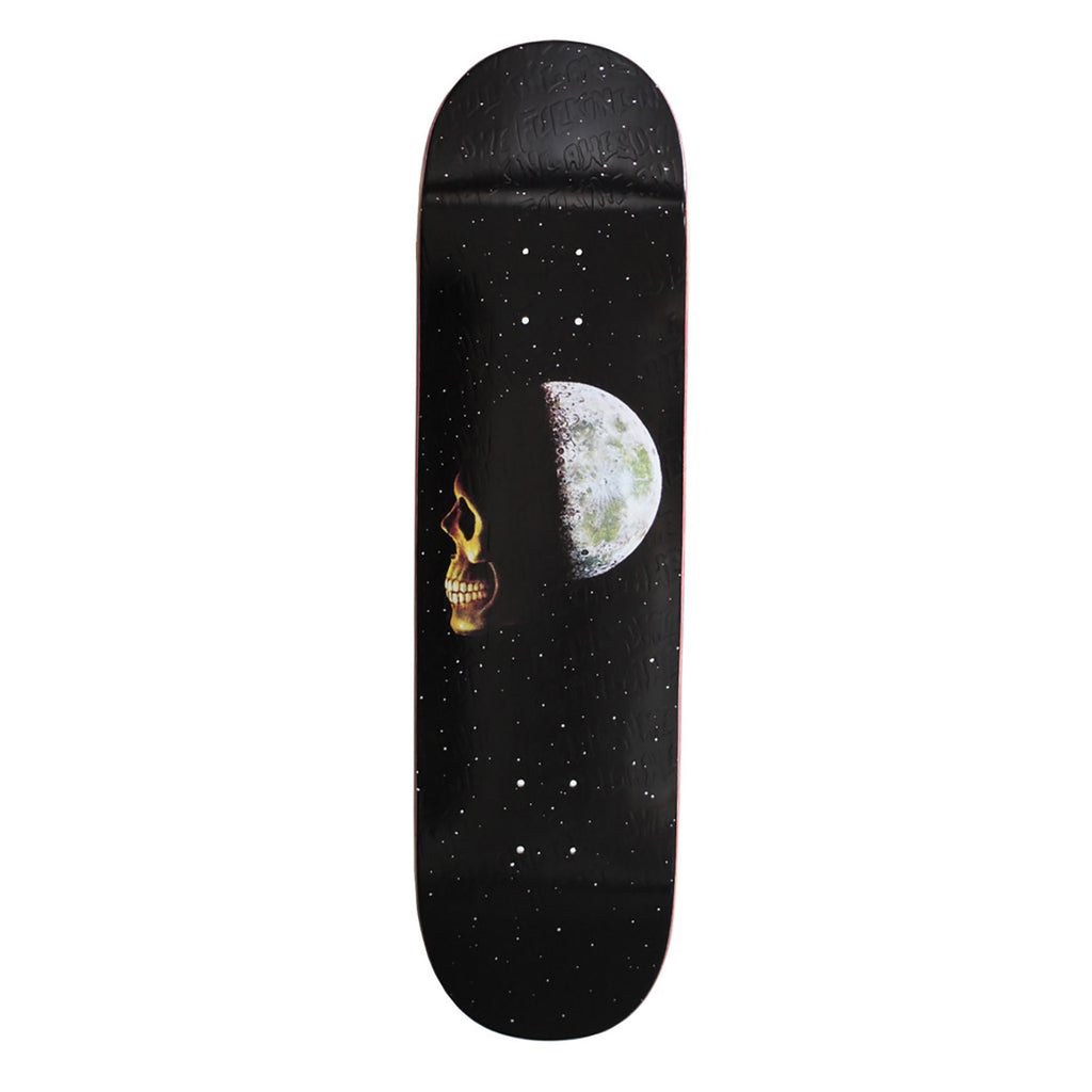 Fucking Awesome Skull Moon Skateboard Deck in 8.25""