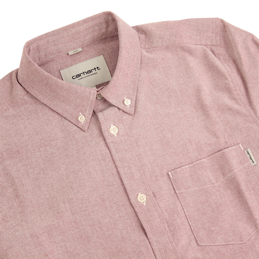 Carhartt Rogers L/S Shirt in Alabama - Detail