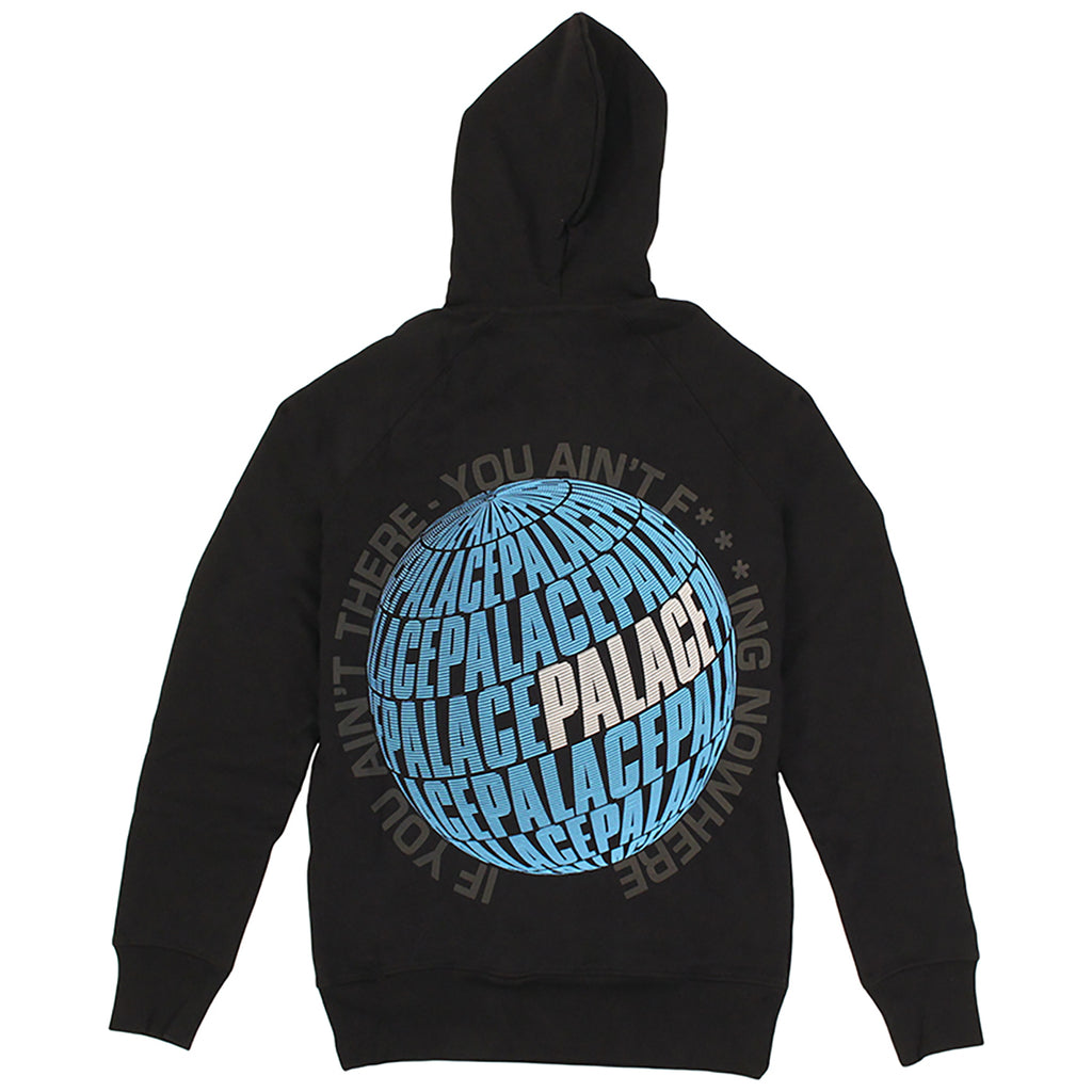 Palace If You Ain't There Hoodie in Black
