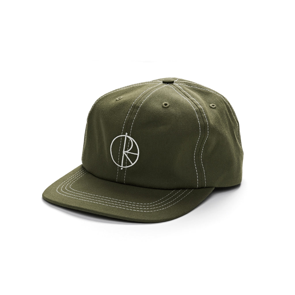 Polar Skate Co Contrast Cap in Olive