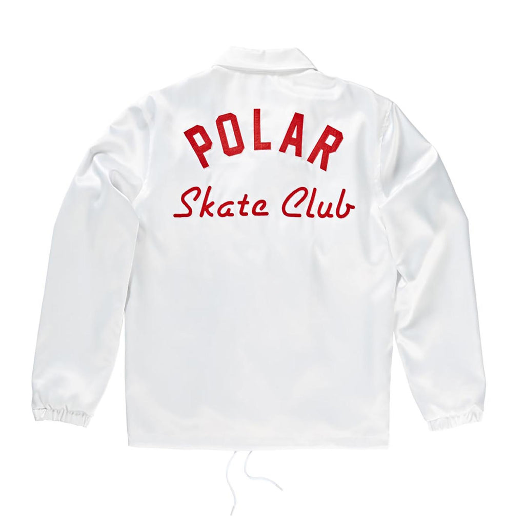 Polar Skate Co Polar Skate Club Jacket in White