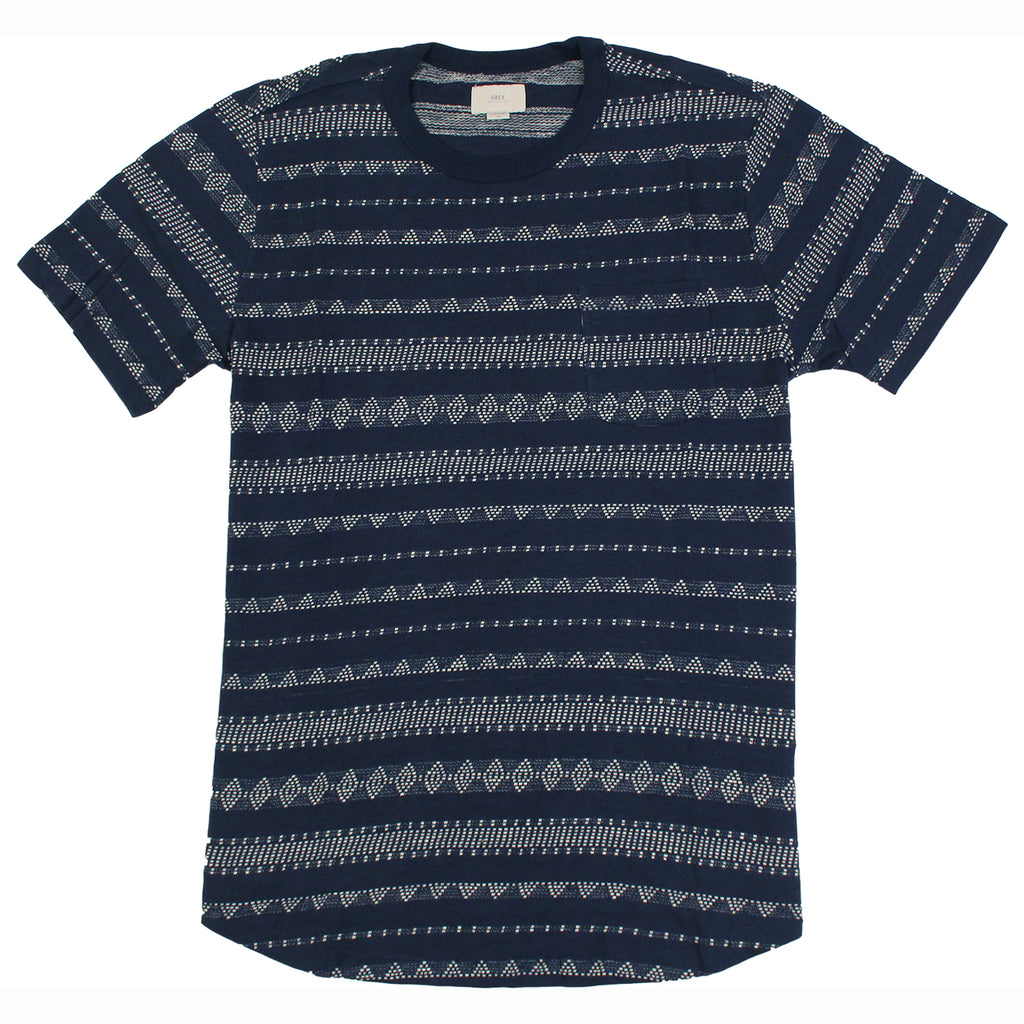 Obey Clothing Mateo T-Shirt in Indigo