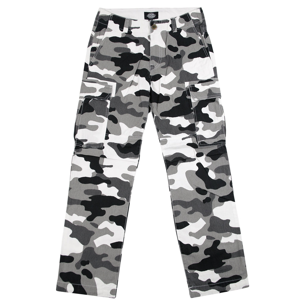 Dickies New York Pant in White Camo - Open