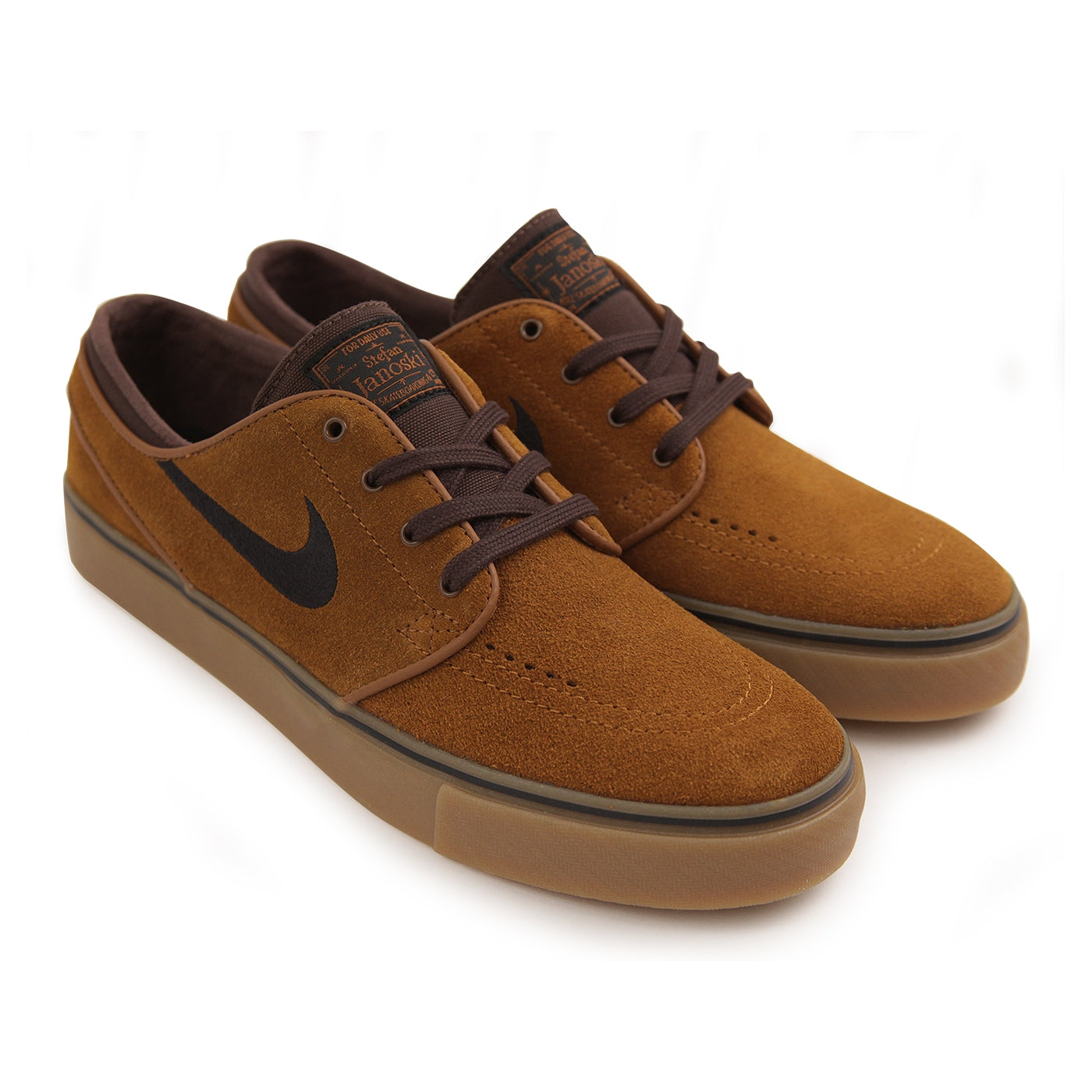 official photos 9835c 21402 Stefan Janoski Skate Shoes in Hazelnut   Black - Baroque Brown by ...