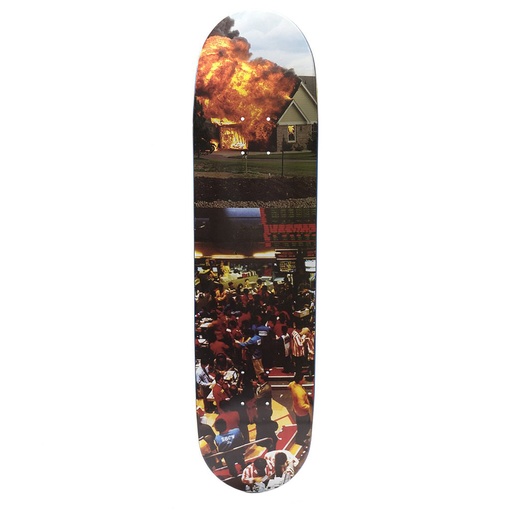 Call Me 917 Wall Street Skateboard Deck in 8.125""