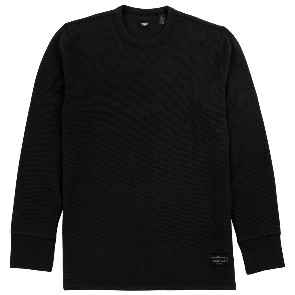 Levis Skateboarding L/S Thermal in Jet Black