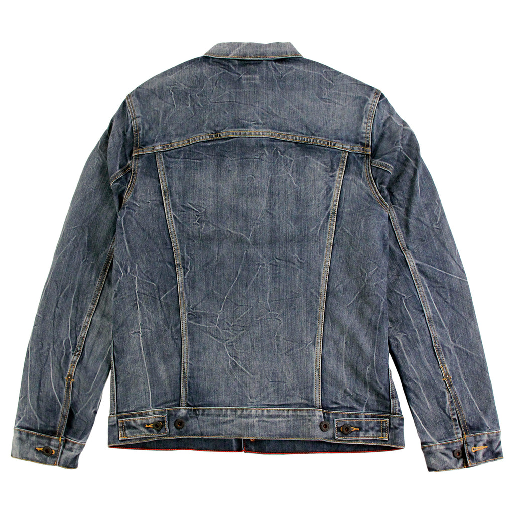 Levis Skateboarding Trucker Jacket in Battery - Back