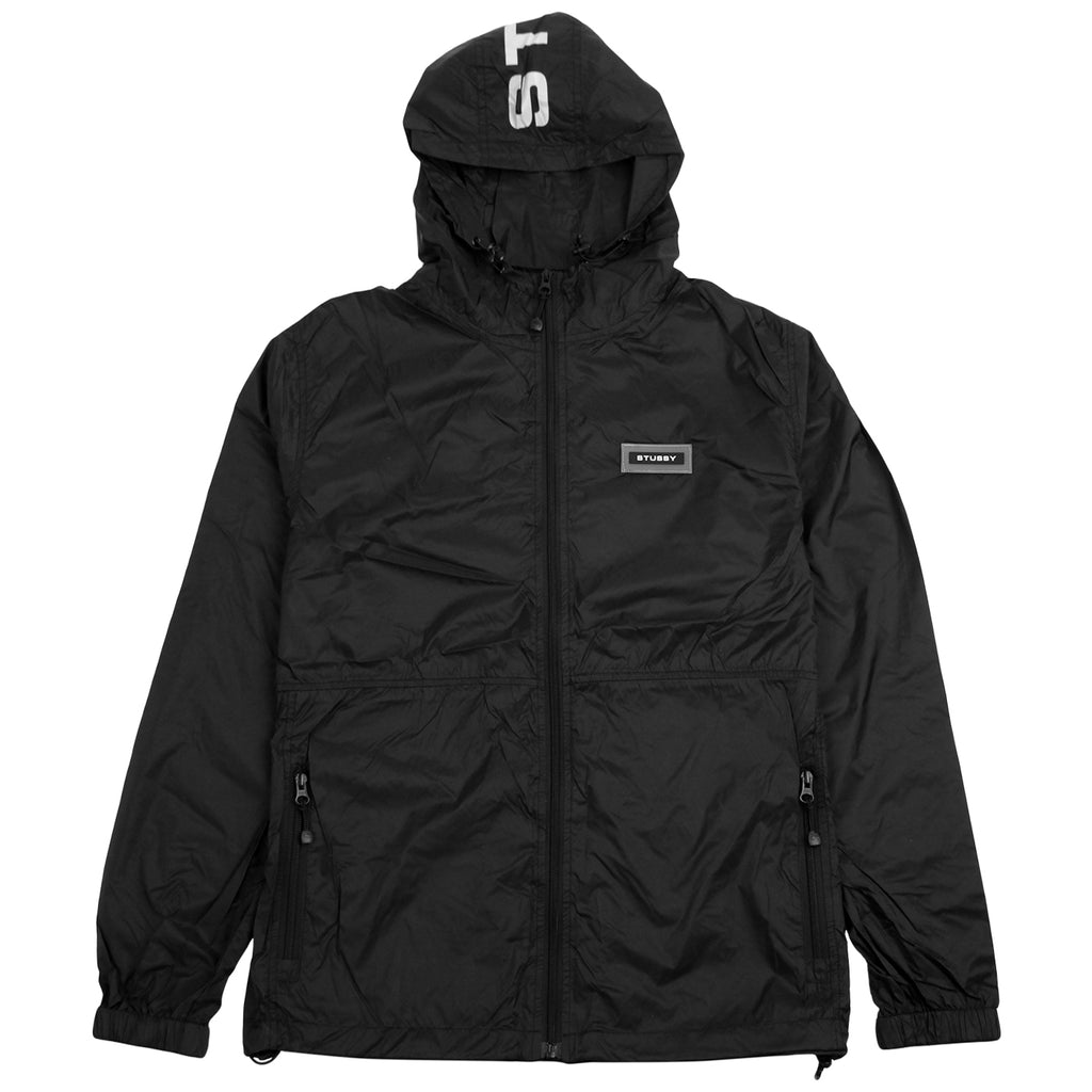 Stussy Sport Nylon Jacket in Black
