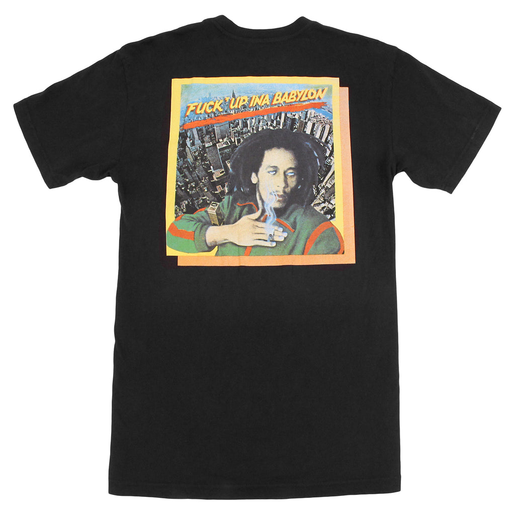 Fucking Awesome Kevin Bradley Babylon Pocket T Shirt in Black