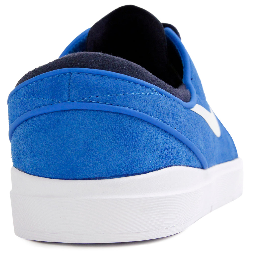 Nike SB Janoski Hyperfeel Shoes in Photo Blue / White-Obsidian - Heel
