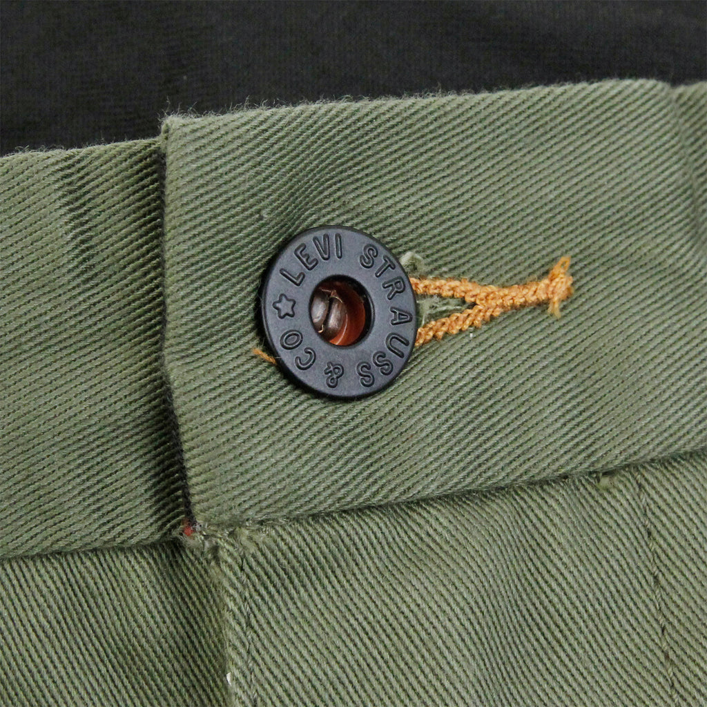Levis Skateboarding Work Pant in Ivy Green - Button