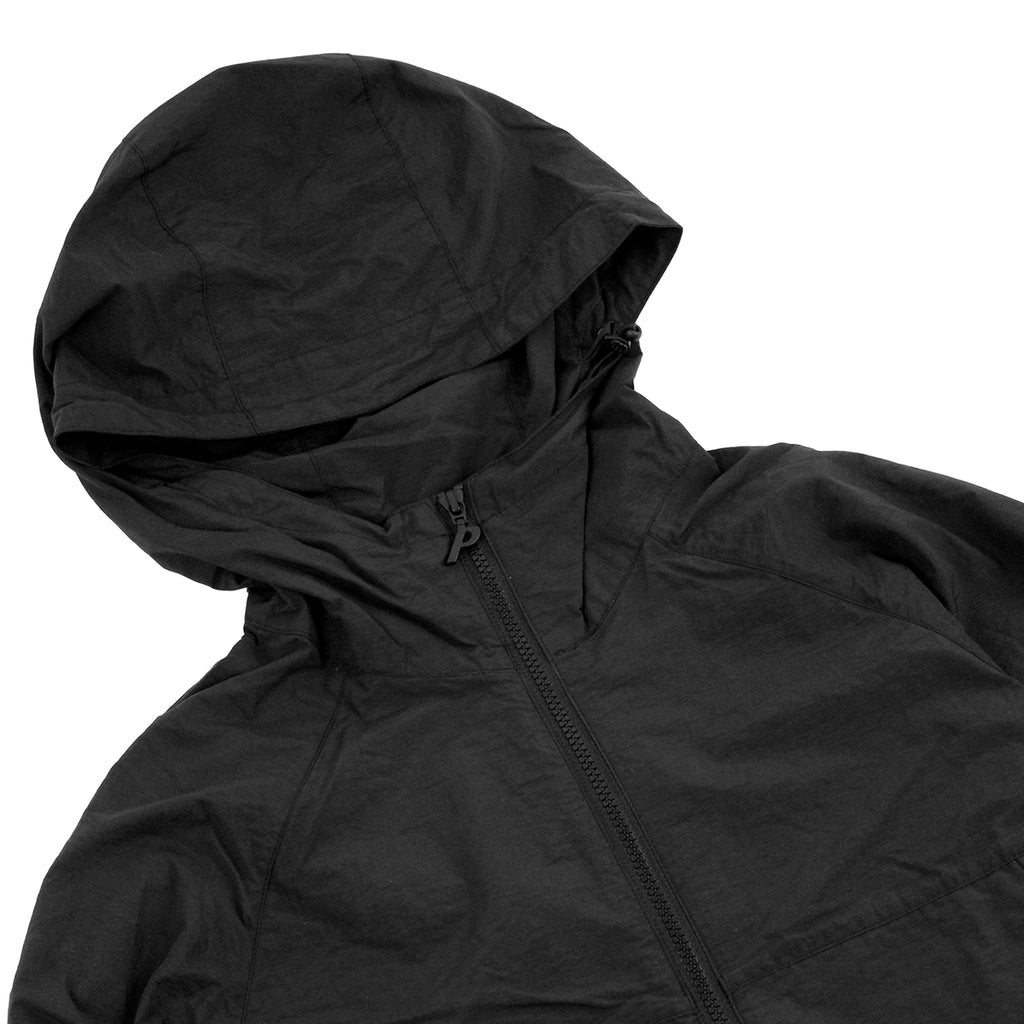 Palace Park Jacket in Anthracite - Detail