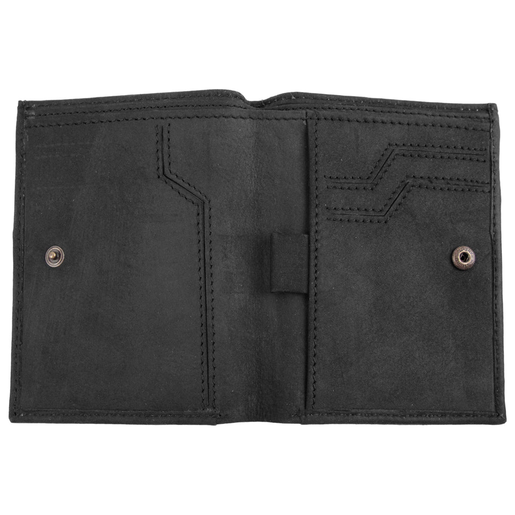Dickies Ridgeville Wallet in Black - Open