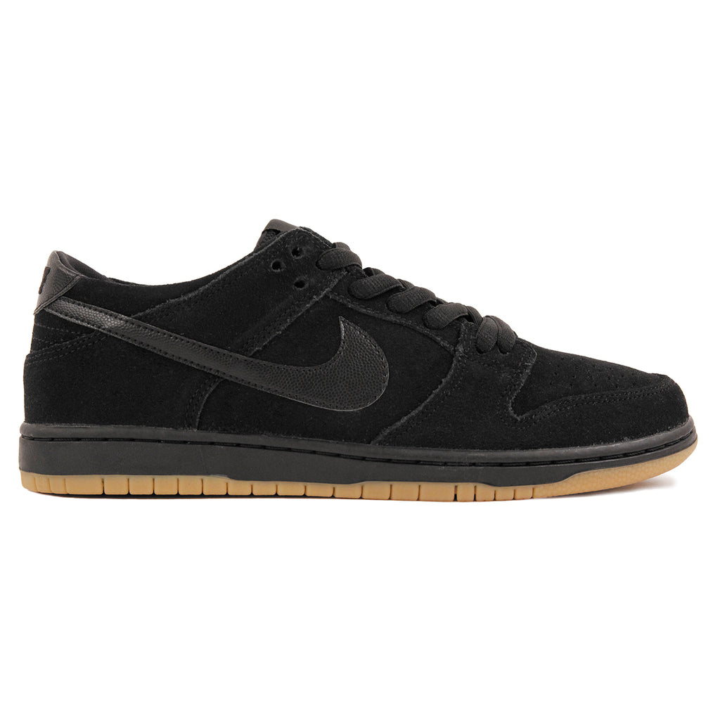 Nike SB Dunk Low Pro Ishod Wair Shoes in Black / Black-Gum Light Brown