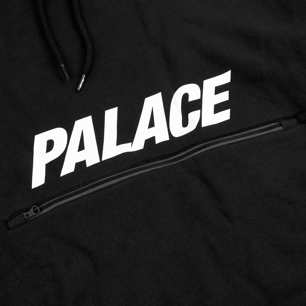 Palace x Adidas Track Top FT in Black / White - Print