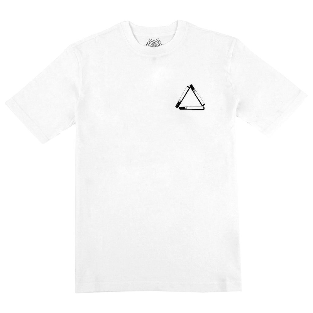 Palace Tri Smoke T Shirt in White