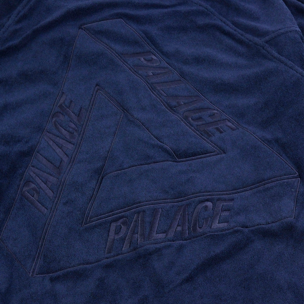 Palace x Adidas Towel Jacket in Night Indigo - Embroidery